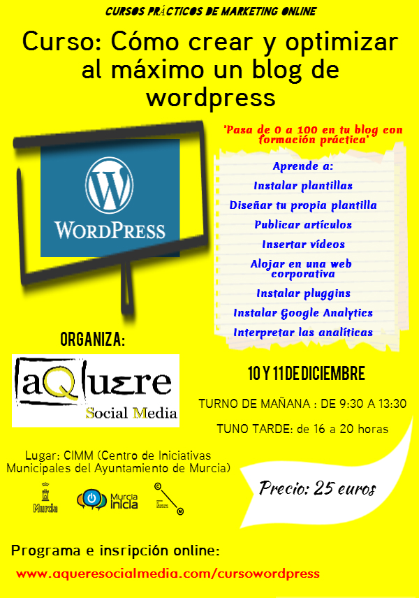 'wordpress murcia'