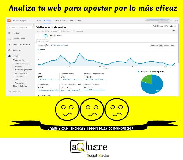 """""""analítica web"""""""