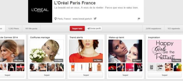 L Oréal Paris France en Pinterest