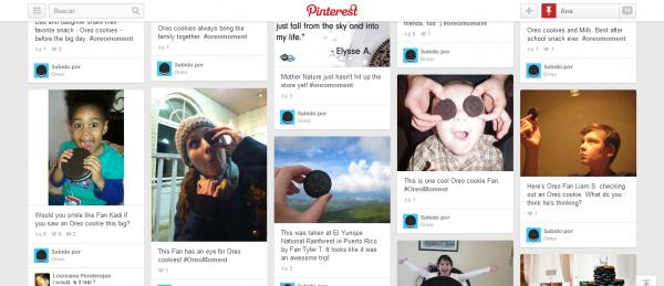 Oreo Moments en Pinterest