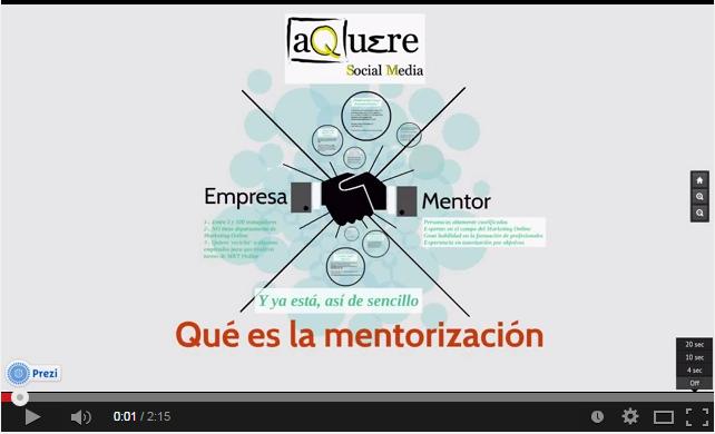 Vídeo sobre nuestros servicios de mentorización