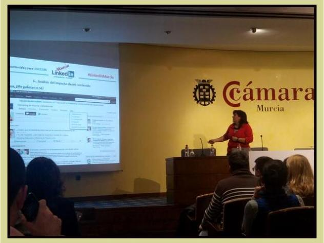 Ponencia Marketing de Contenidos para Linkedin